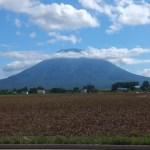 美しい羊蹄山