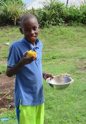 Kerly loves mangos!