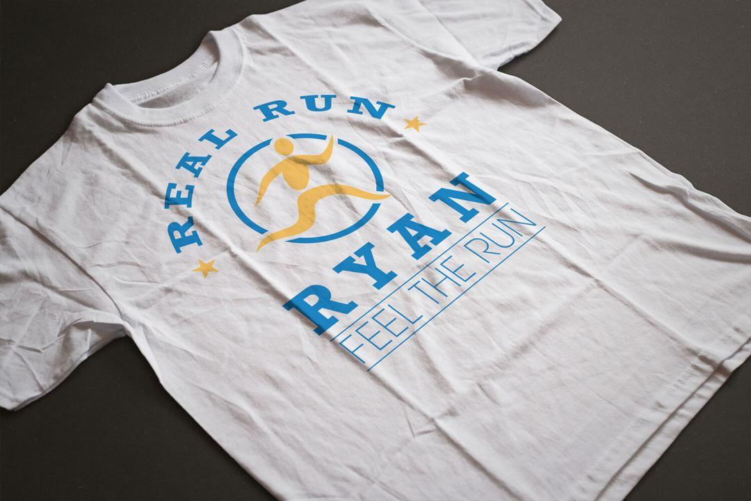Real Run Ryan T-Shirt Design Atlanta