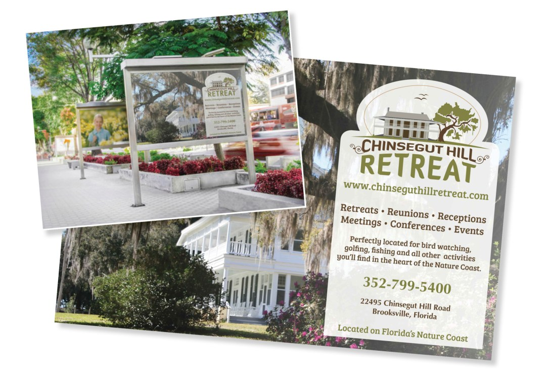 Chinsegut Hill Retreat Postcard Designs