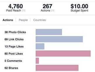 Hernando County Facebook Ad Results