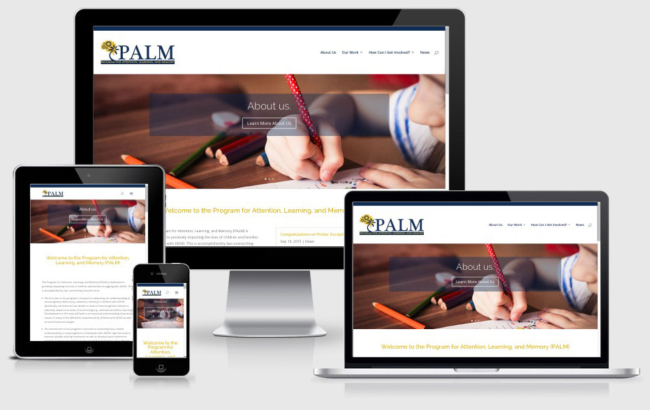 Website Design & Logo Design for a Research Lab at Florida International University
