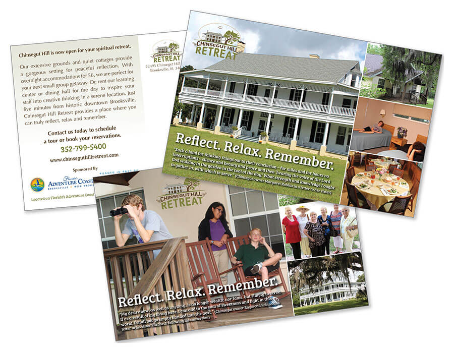 Chinsegut Hill Retreat Church Postcard Mailers