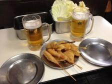 Kushiage in Osaka