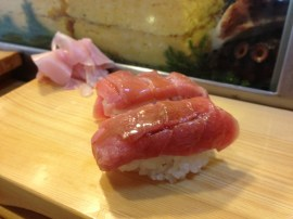 The toro at Daiwa Sushi is nirvana expressed as fish and seasoned rice.