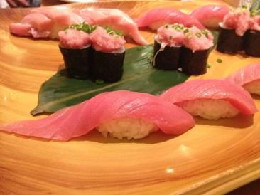 Tuna galore. (Midori Sushi)