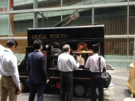 Grilled meat truck