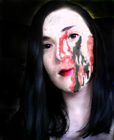 ink rain and blood