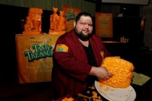 Master Cheese Carver Troy Landwehr