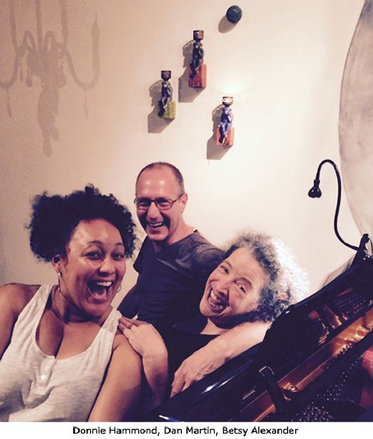 Donnie Hammond, Dan Martin, Betsy Alexander.