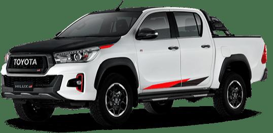 Toyota Hilux blanco perla