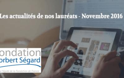 Actualités –  Novembre 2016