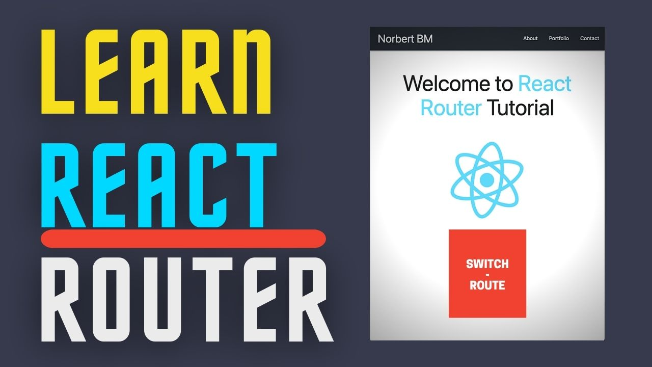 React Router Tutorial