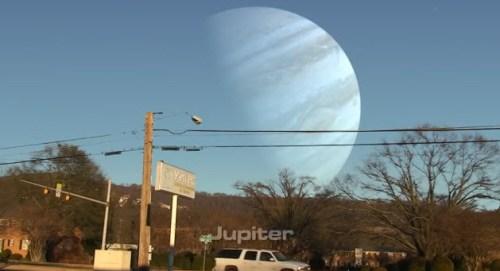 Jupiter at Moon