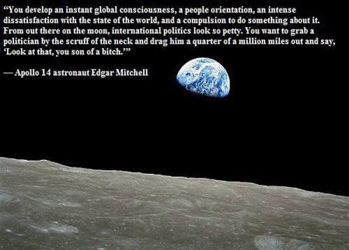 Edgar Mitchell Quote