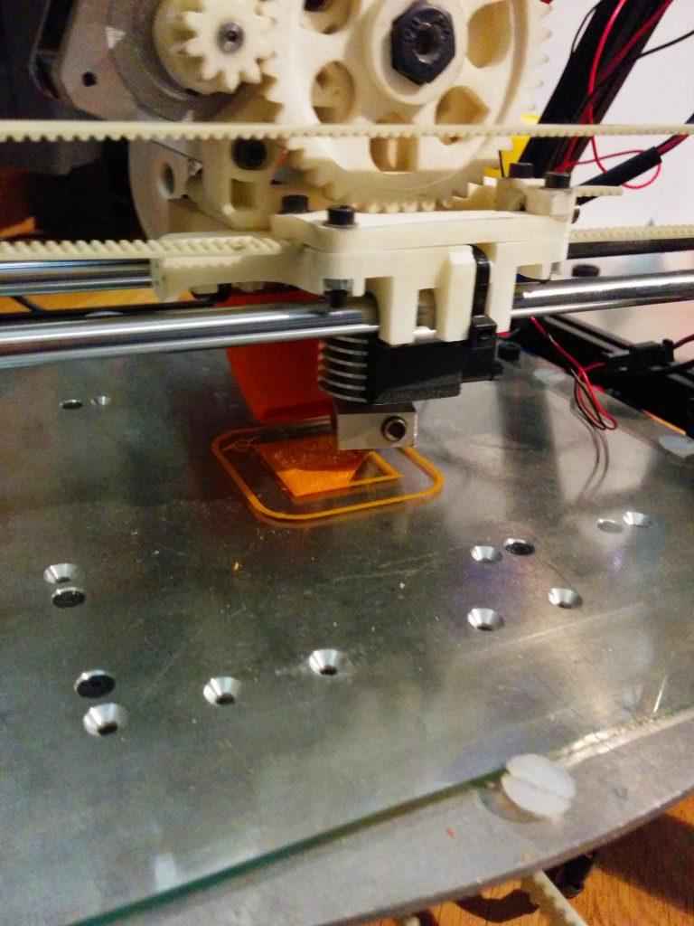 Cube printing