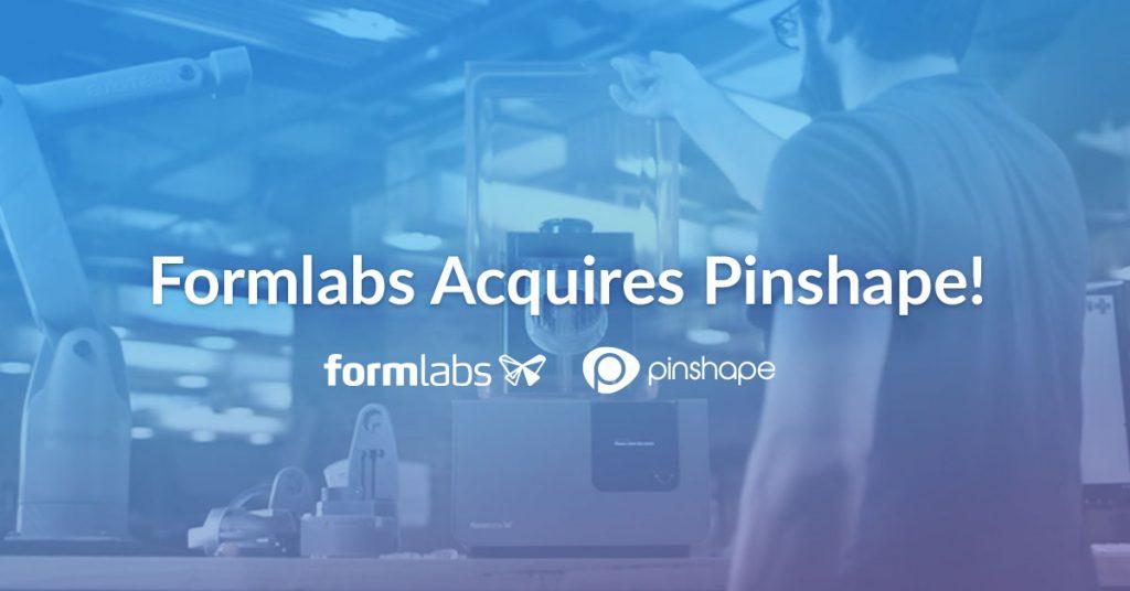 Pinshape joins Formlabs