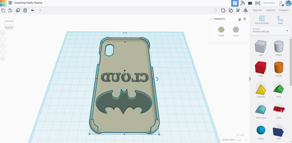 tinkercad iphone cover