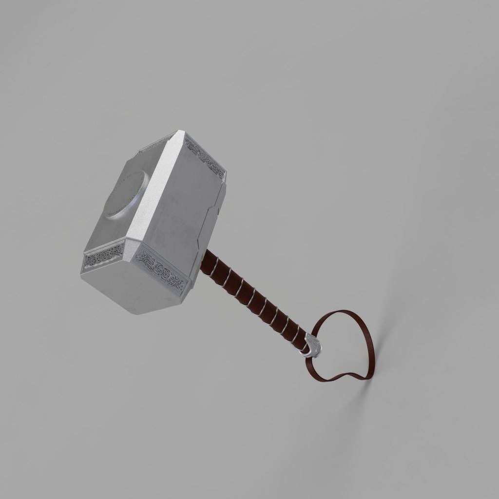 Thor hammer render
