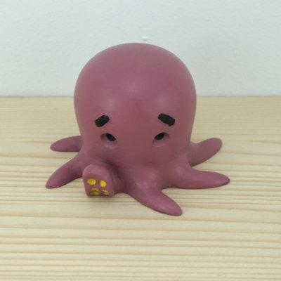 Impresion 3d Cute Octopus pintado