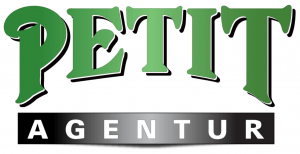 petit agentur logo stor