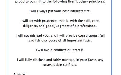 The Fiduciary Oath