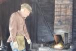 Coloma Blacksmith acrylic painting by Diana Licon