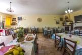 Sala ristorante a Castelluccio di Norcia