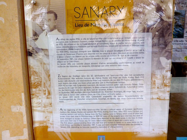 Sanary-sur-Mer, lieu d'exil pour artistes et écrivains célèbres