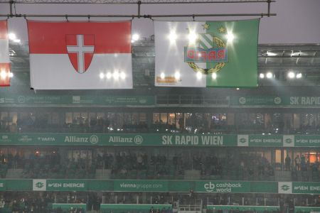 Scneefall im Weststadion
