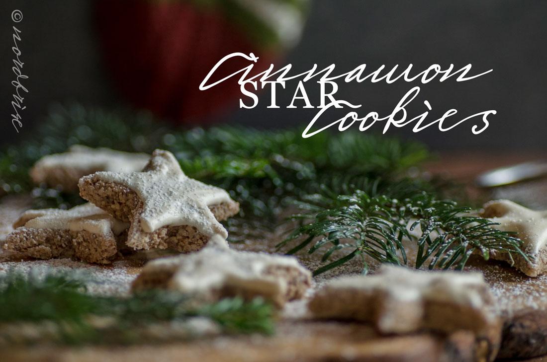 zimtsterne cinnamon stars cookies recipe rezept nordbrise