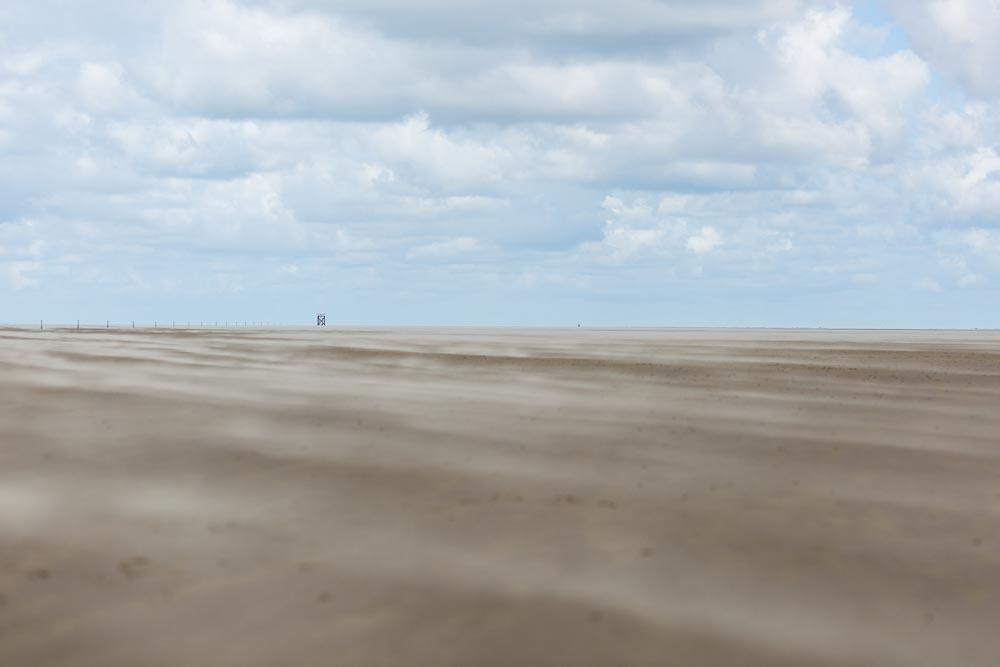 Impressionen der Nordsee in Westerhever am Leuchtturm