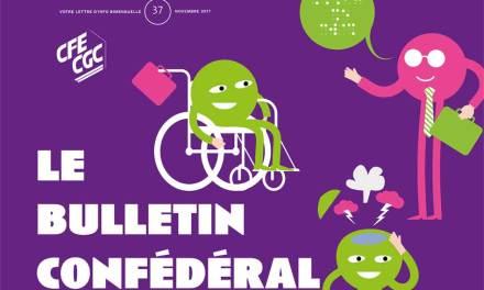 Le bulletin confédéral n°37 de la CFE-CGC