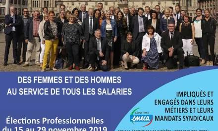 Les candidats du SNECA Nord de France aux élections professionnelles