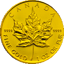 Kanada Maple Leaf Goldmuenzen 1 Oz Kanadische Maple Leaf