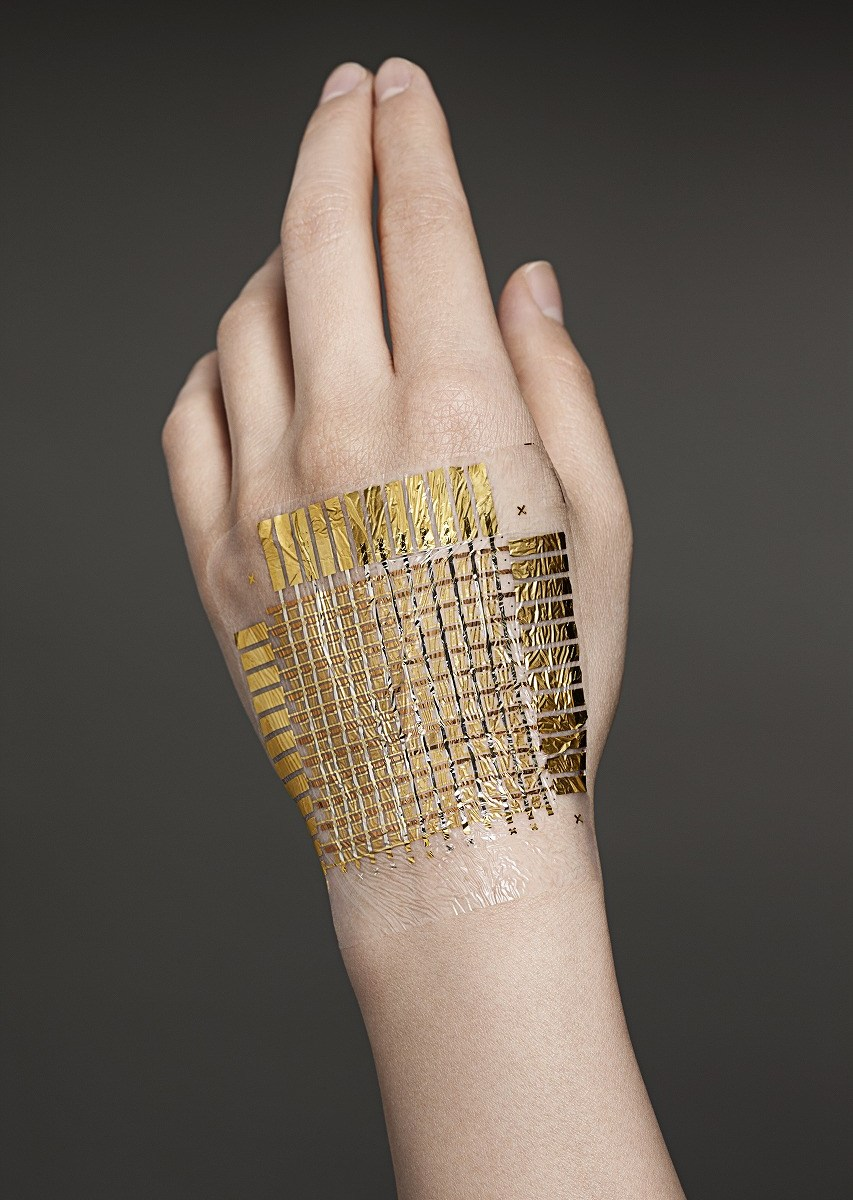 E-Skin - Quelle: TAKAO SOMEYA GROUP, UNIVERSITY OF TOKYO