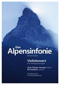 Alpensinfonie in der Elbphilharmonie