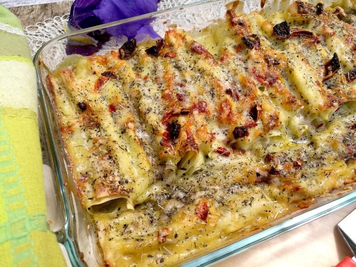 Recipe for fresh pesto cannelloni