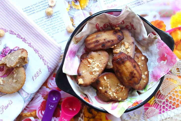 come preparare le madeleines roquefort e rosa canina
