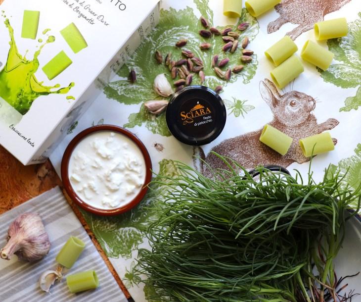 ricetta-paccheri-ripieni-al-pistacchio