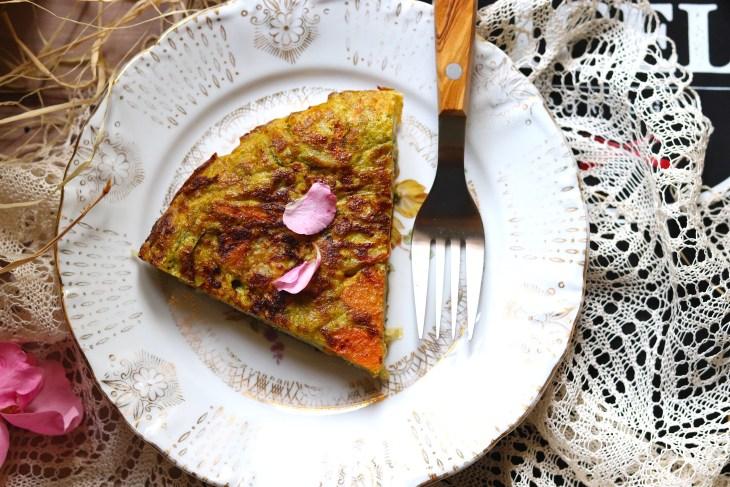 ricetta-frittata-al-pesto-e-patate-dolci