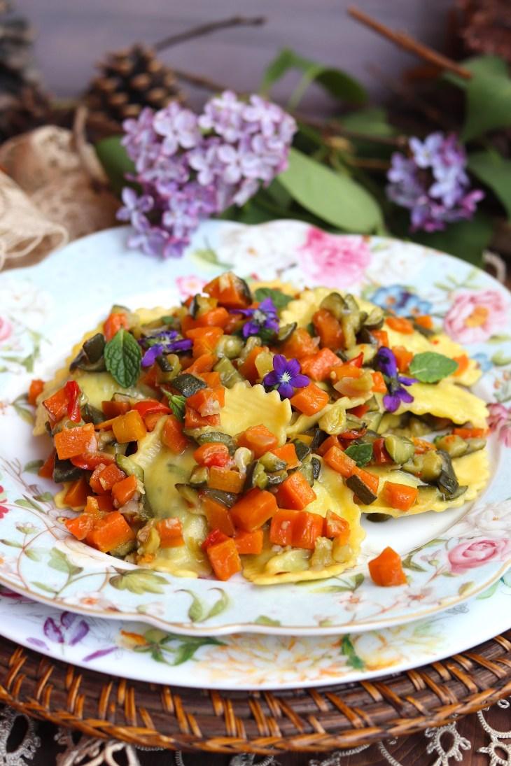 pasta-vegetariana-ricetta