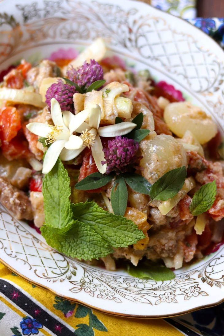 ricetta panzanella con baccala