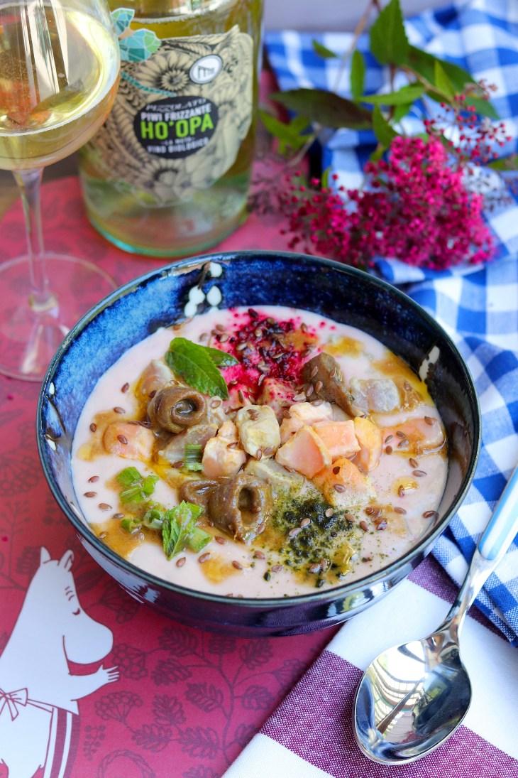 ricetta zuppa dell'alaska