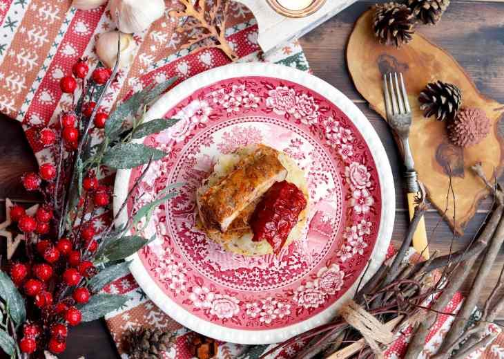 un piatto dedicato ai Krampus