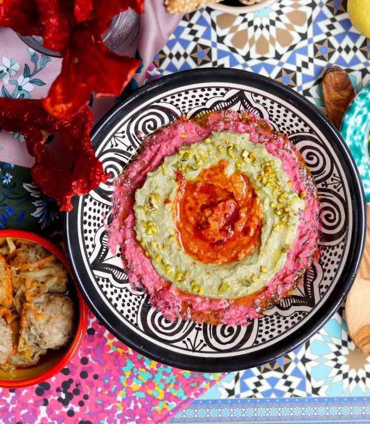 hummus colorato