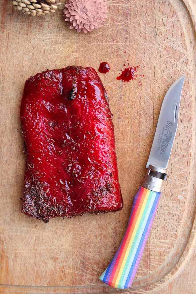 salmone marinato gravlax