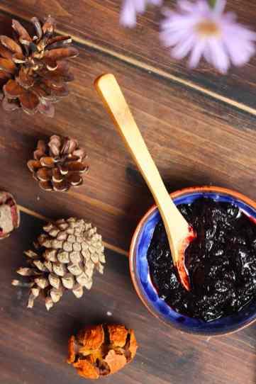 confettura di mirtilli cascina bonfiglio