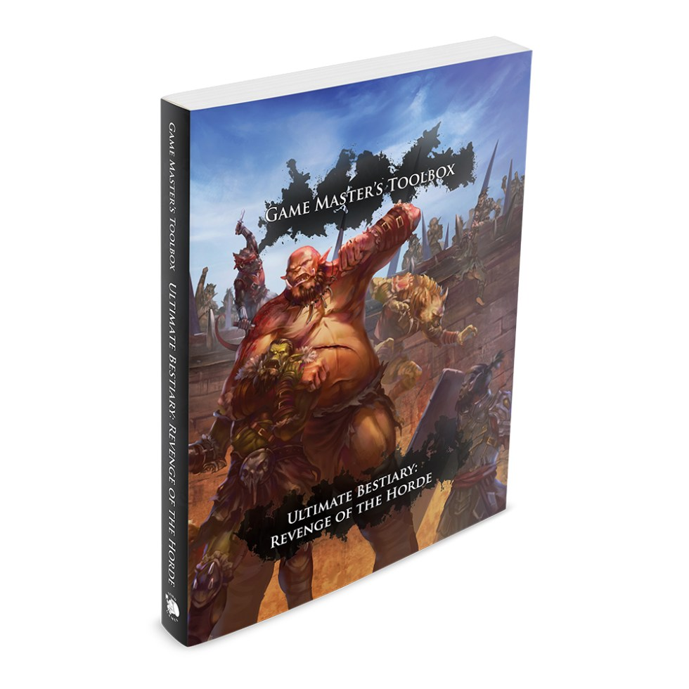 Ultimate Bestiary: Revenge of the Horde is not another A-Z of monsters. Instead, we have focused on some of the commonly encountered monstrous races like goblins, gnolls, and orcs, detailing their cultures, environments, and attitudes, as well as introducing a wide variety of stat blocks to suit a range of challenge levels, each with their own unique artwork.