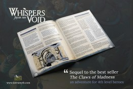 Whispers from the Void - 5E Adventure (PDF) - Nord Games